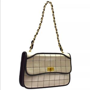 CHANEL Quilted 2.55 Chain Shoulder Bag
